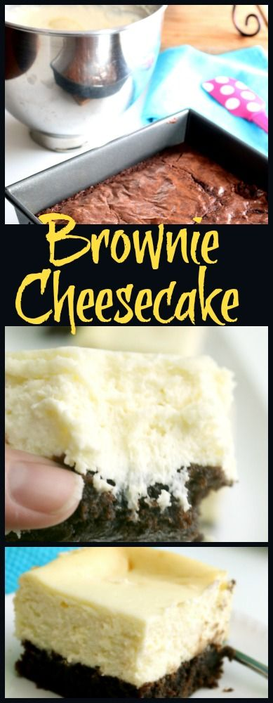 Brownie Cheesecake can be topped in a variety of ways making it so versatile that my guests just love it!