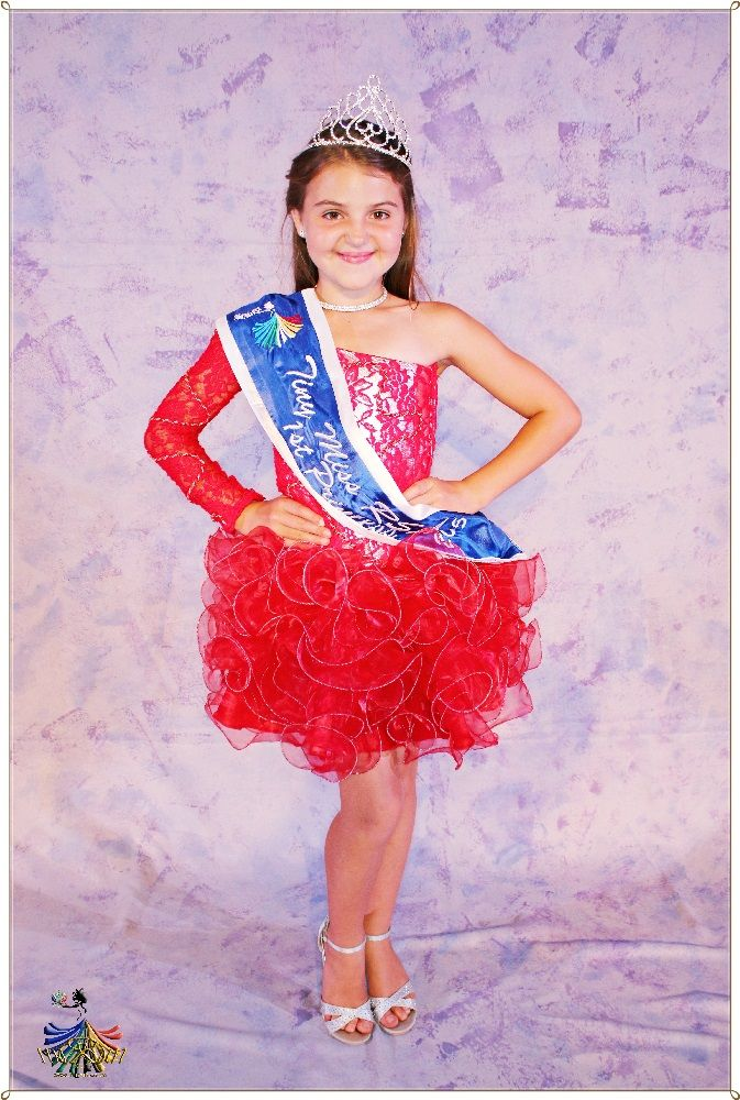 Tiny Miss RSA 2015 - 1st Princess Hayley v d Walt