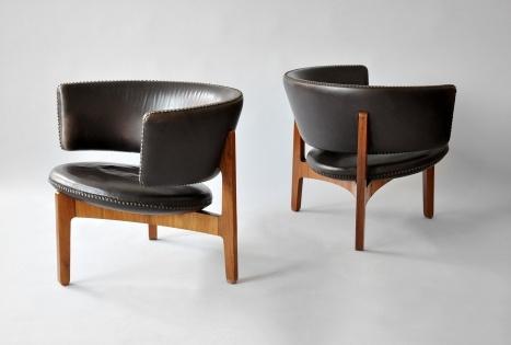 rare easy chairs - sven ellekaer 1961-2