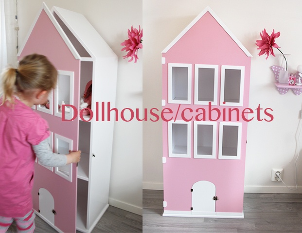 To buy this beautiful Dollhouse/cabinets you can go to www.creative-styling.no