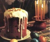 Kulich... Russian Easter Bread