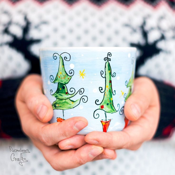 A personal favourite from my Etsy shop https://www.etsy.com/no-en/listing/567096955/hand-painted-tea-mugs-coffee-mug-gift