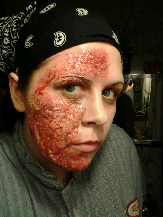 9 best Burns images on Pinterest | Fx makeup, Costumes and ...