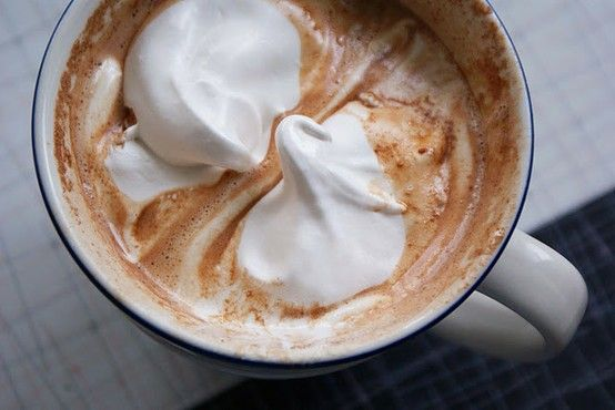 Polar Express Hot Chocolate (aka the BEST hot chocolate you've ever tasted)  --1.5 cups of heavy cream  --1 can of sweetened condensed milk (14 oz)  --2 cups of bittersweet chocolate chips  --6 cups of milk  --1 tsp vanilla extract - Click image to find more DIY & Crafts Pinterest pins