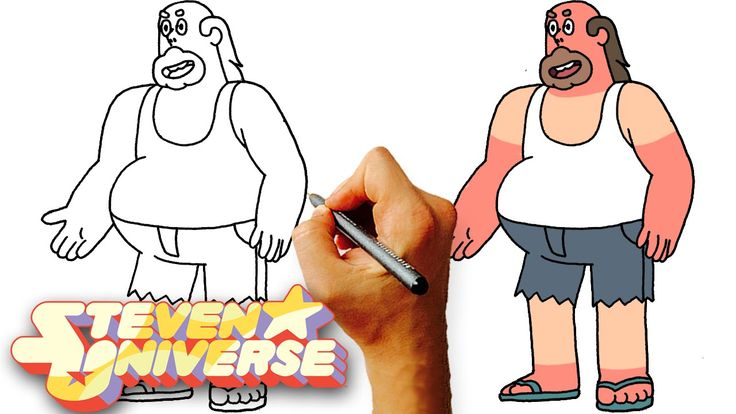 How to Draw Greg Universe (Steven Universe) Step by Step