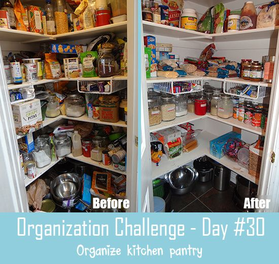 30-Day Organization Challenge Day  | Tips to make the most of a small space | Organize your home | Clever tricks and easy DIY ideas for storage on a budget