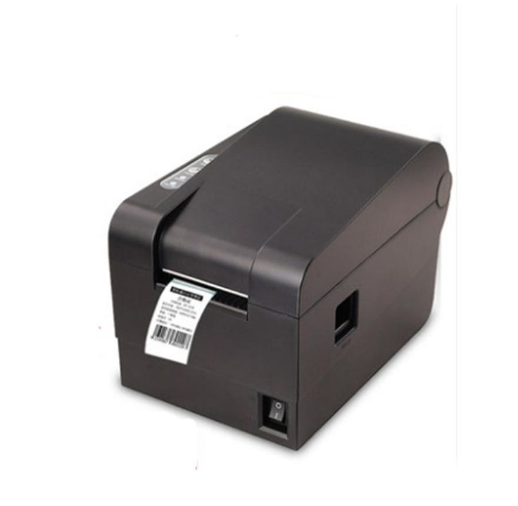 2016 new  high quality 235B clothing tag  58mm Thermal barcode sticker printer Qr code the non-drying label printer