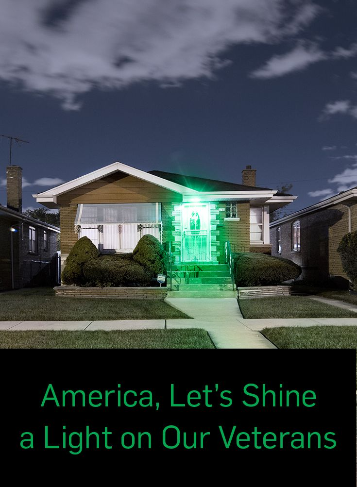 On Veterans Day and beyond, change one light to green and keep it glowing every day as an ongoing symbol of support for our veterans across America. Visit greenlightavet.com to show your support and learn more about the #GreenlightAVet movement.