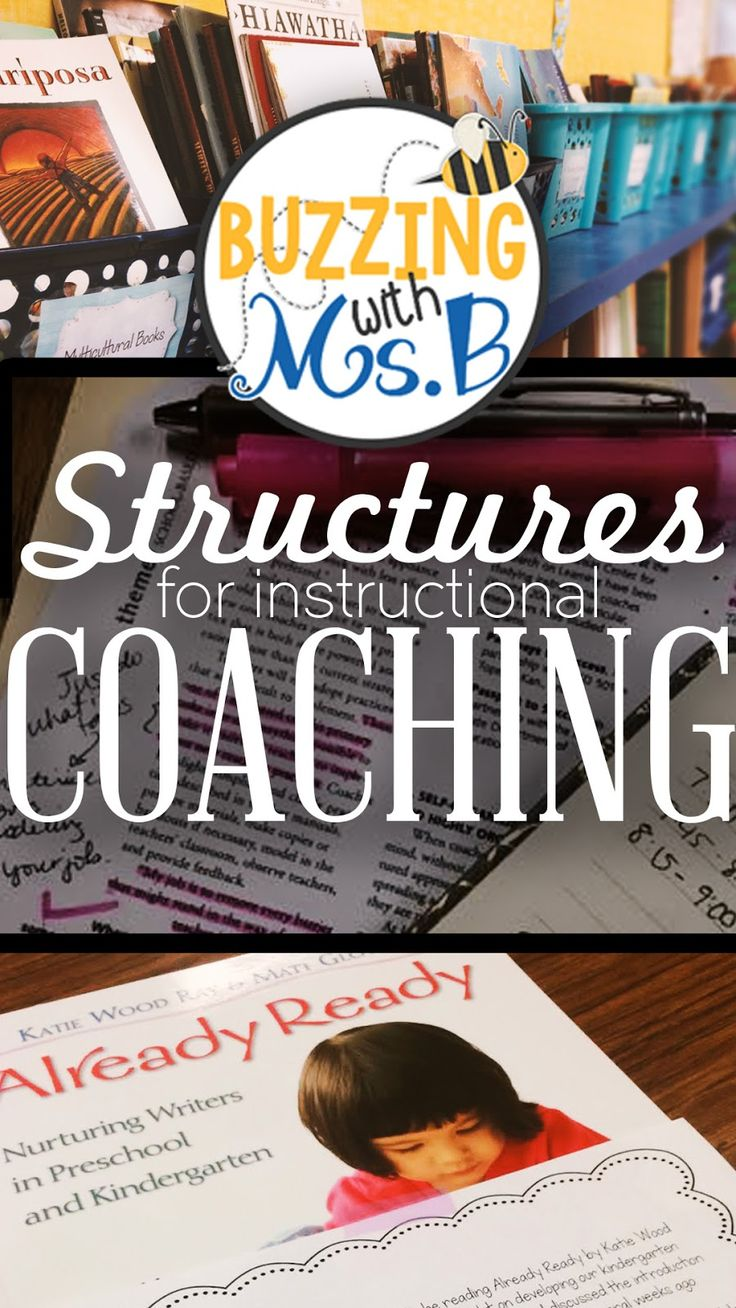 Buzzing with Ms. B: Structures for Instructional Coaching