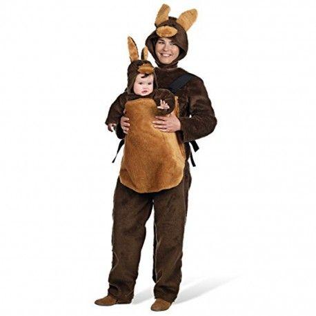 Disfraz de Canguro Adulto. Bonito y original disfraz de canguro perfecto para disfrazarte con tu bebe ya que esta disponible el disfraz de canguro bebe. Disfrazate este Carnaval con nuestros disfraces familiares. http://mercadisfraces.es/animales/disfraz-de-canguro-adulto.html?search_query=ma715&results=1