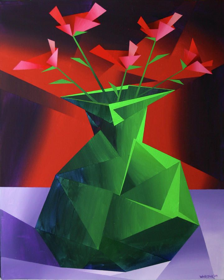 cubist flowers - Bing Images