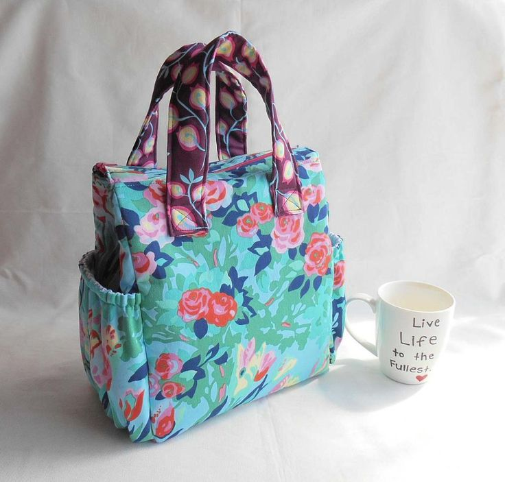 (9) Name: 'Sewing : Insulated Lunch Bag