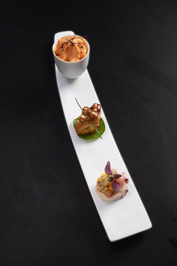 Amuses bouches @ Le Cinq  #appetizer #apéritifs #tapas