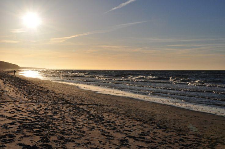 plaża / beach in Trzęsacz