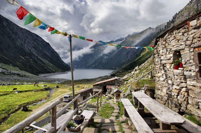 Hütte-Klein-Tibet im Zillertal #intirol