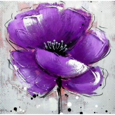 Tablou modern floare violet s2ac141a