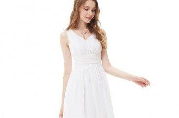 Белое платье - как выбрать длинное или короткое. Вечерние, кружевные и летние белые платья модные в 2017 году