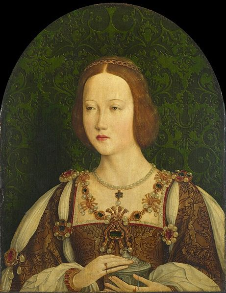 File:0 Marie d'Angleterre, reine de France.jpg. Mary Tudor, Queen of France as Saint Mary Magdalene. c.1514-15, unknown French artist.