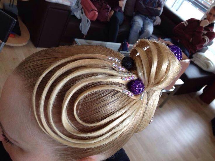 Hair Styles For A Dance: 1000+ Ideas About Dance Hair Buns On Pinterest