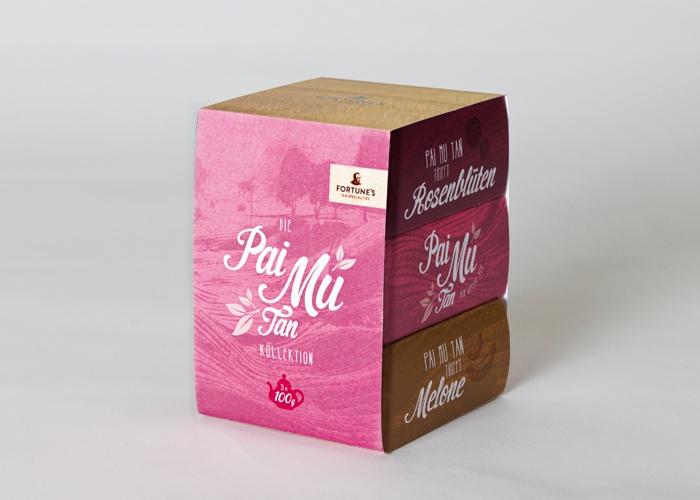Tea Packaging by   Julia Marquardt