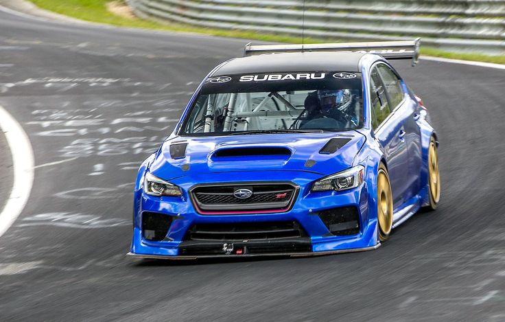 Subaru WRX STI Type RA NBR Special, 2017. The WRX has set a new lap record for a four-door saloon at the 12.8-mile Nürburgring Nordschleife race track, achieving a time of 6:57.5. The time was...