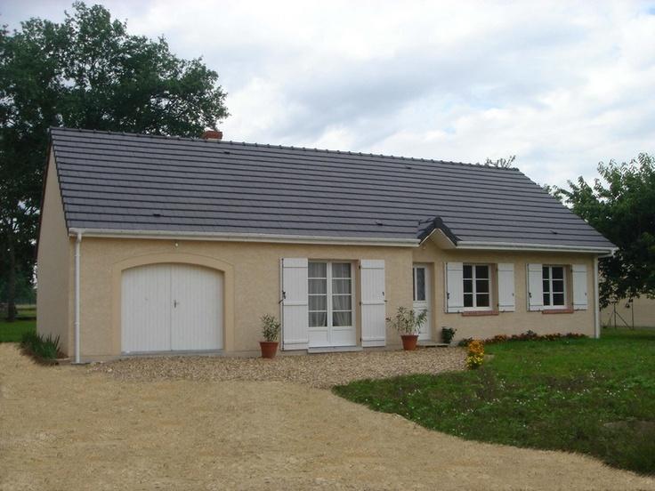 Pin constructeur maison de loiret pavillon bain on pinterest for Constructeur maison individuelle loiret