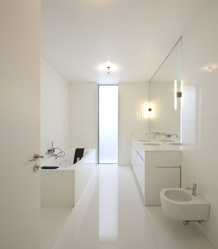 #interiors #architecture #bathroom white #inspiration