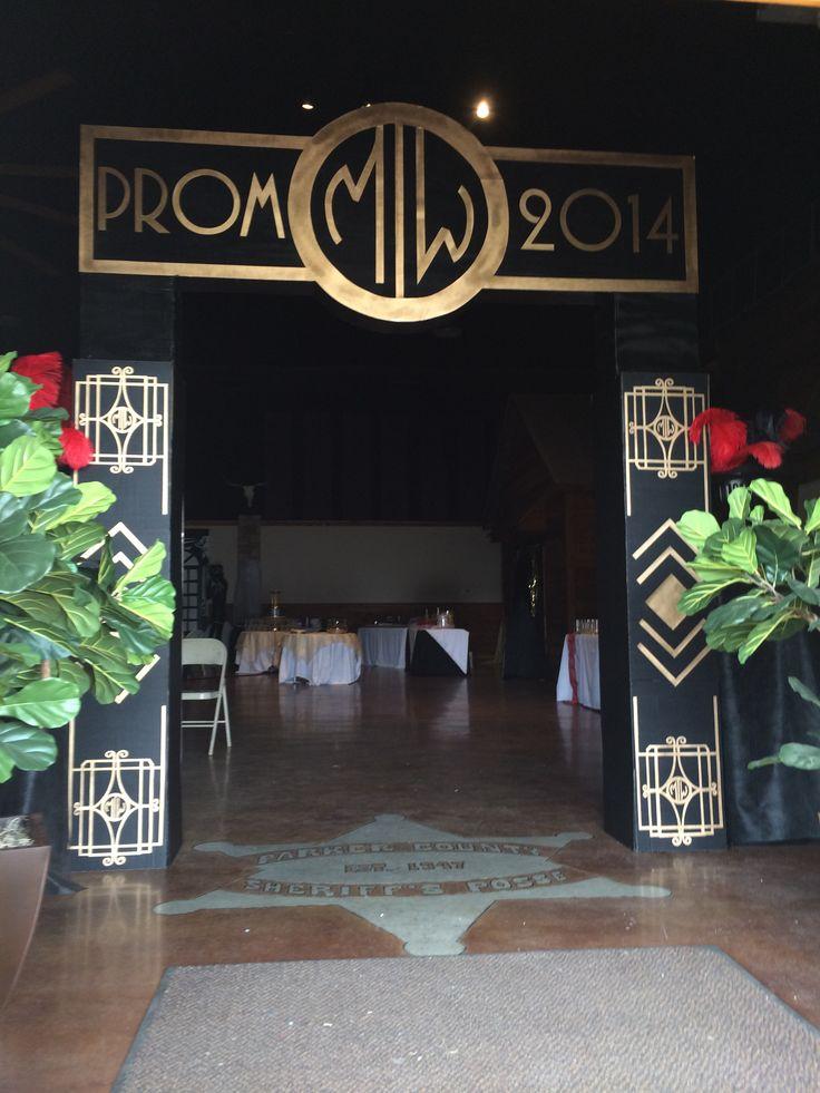 Gatsby prom entrance
