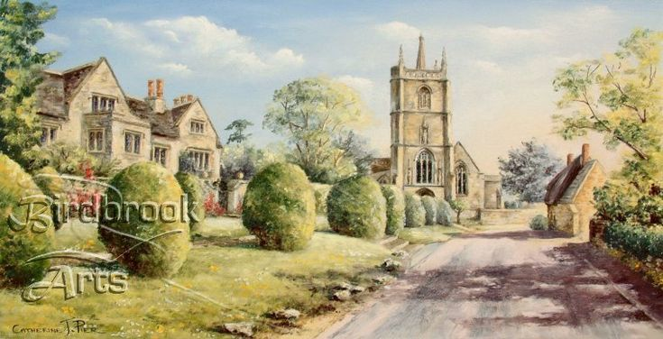 St Marys Church, Purton by well-known artist Catherine Pier