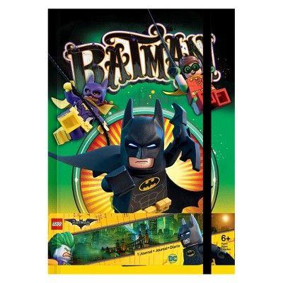 Lego Batman Movie Lined Journal - Batman & Joker,