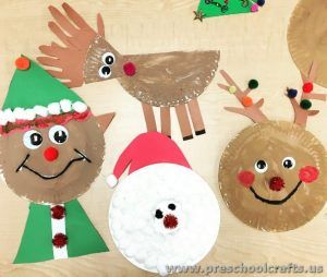 Christmas Crafts Ideas New Year This Section Has A Lot Of For Preschool And Kindergarten Page Includes Funny