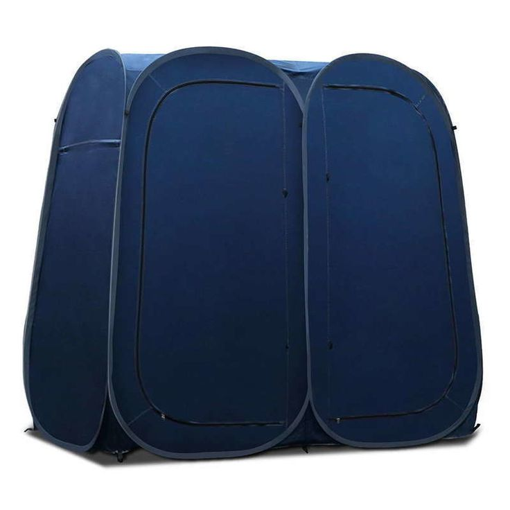 Double Portable Changing Room Shower Tent in Navy | Buy Shower Tents