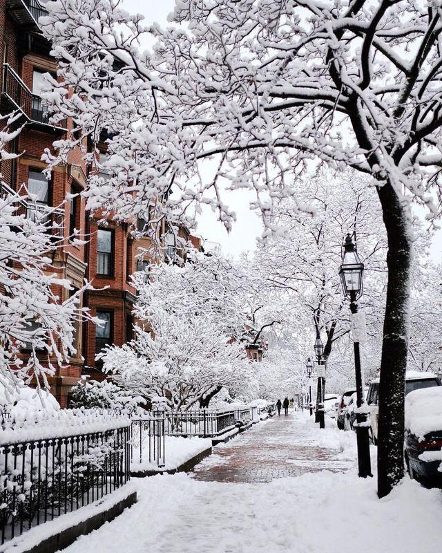 New York City In Winter Winter Scenery Winter Pictures Winter Wallpaper