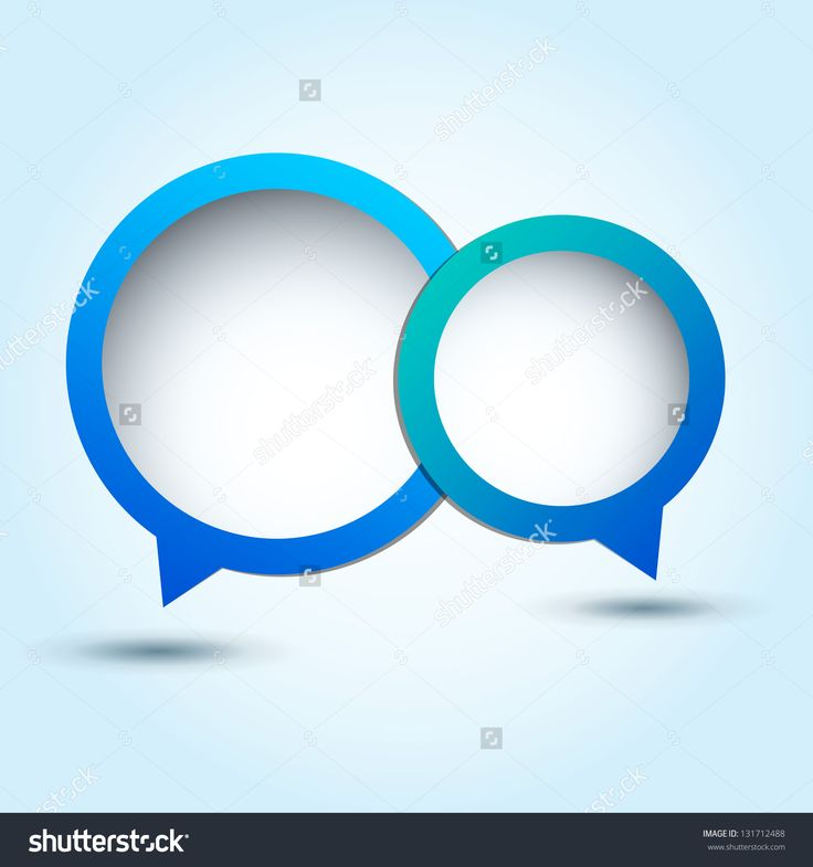 Abstract Speech Bubble / Colorful Glossy Speech Bubble / Vector Speech Bubble ( Vector Background ) Eps 10 - 131712488 : Shutterstock