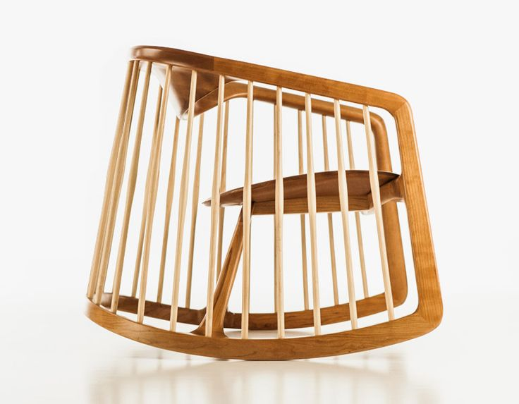 'Harper' rocking chair by Noé Duchaufour Lawrance for Bernhardt Design