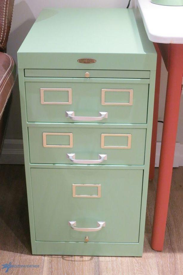 Retro Filing Cabinet Makeover Filing Cabinet Retro Home Decor Cabinet Makeover Diy