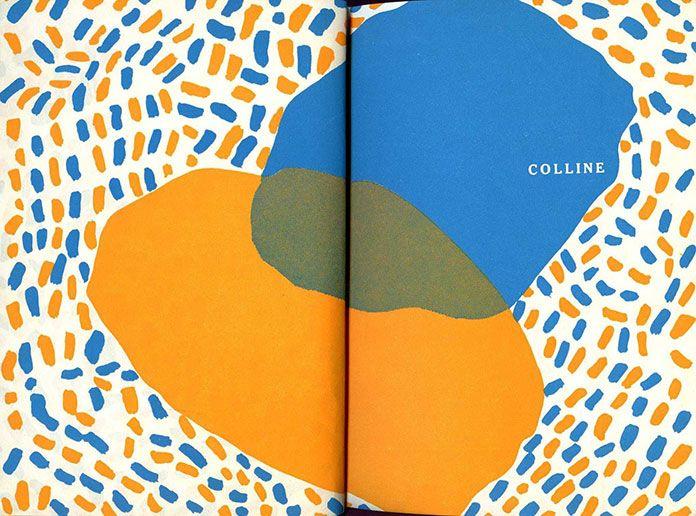 Robert Massin - Colline, Jean Giono (livre interieur) [1953]