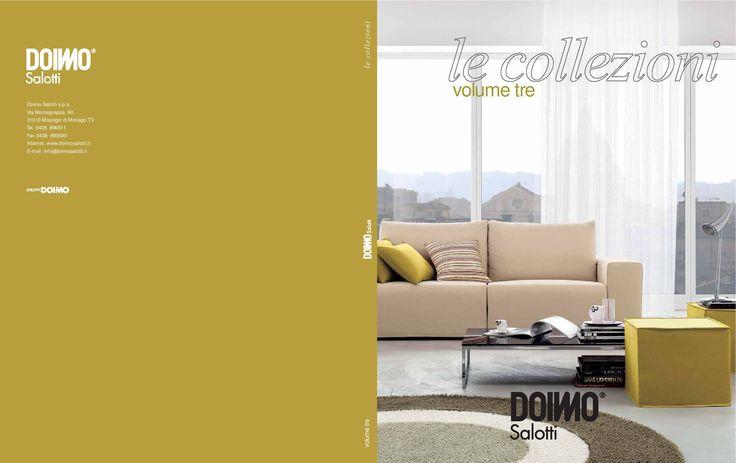 Collezioni Vol. 3 Doimo Salotti  catalogo in pdf collezioni volume 3