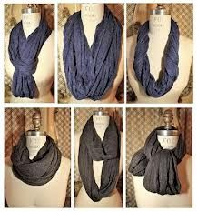 How to wear and rock an infinity scarf