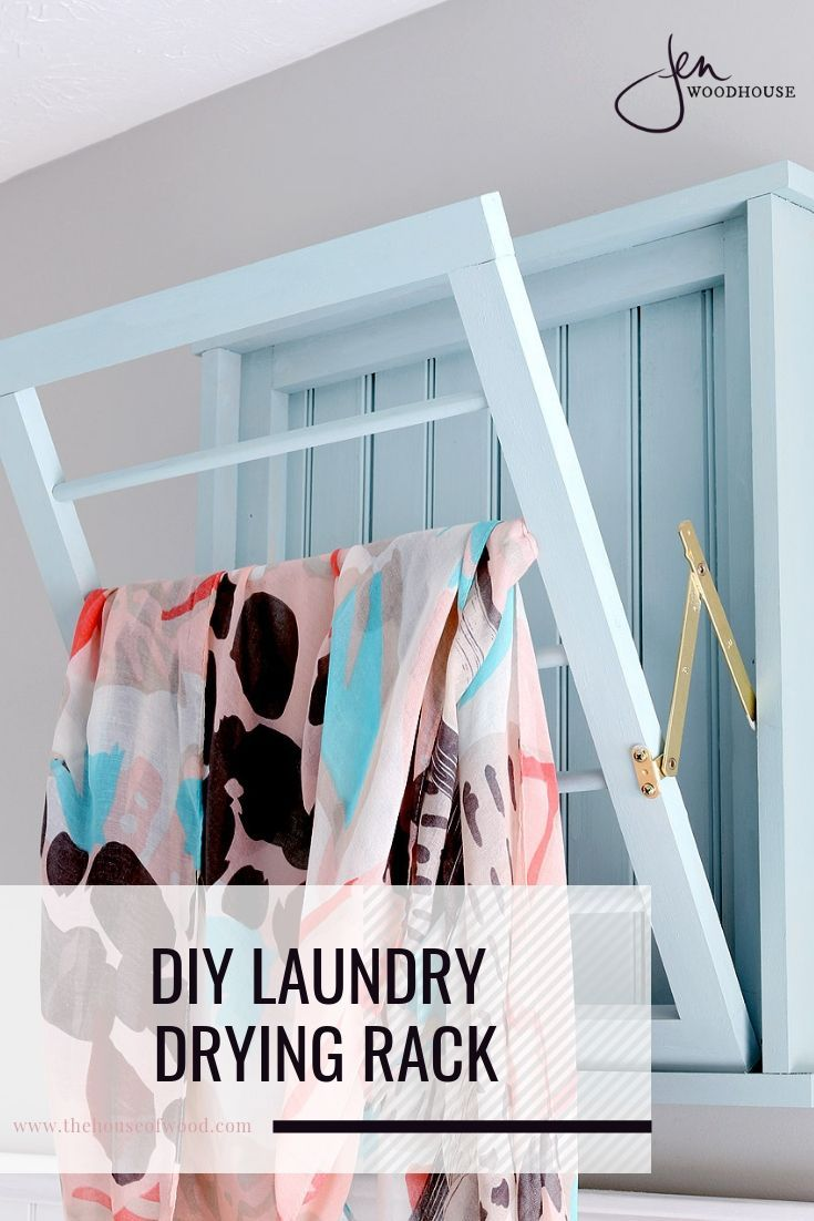 How To Build A Diy Ballard Designs Laundry Drying Rack Drying