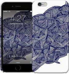 blue lines by Magdalla Del Fresto - iPhone Cases & Skins - $35.00
