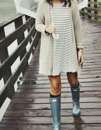 1a892b3826f 59 Fail-Proof Wet Day Outfits For Spring That Want To Be Tried  outfits