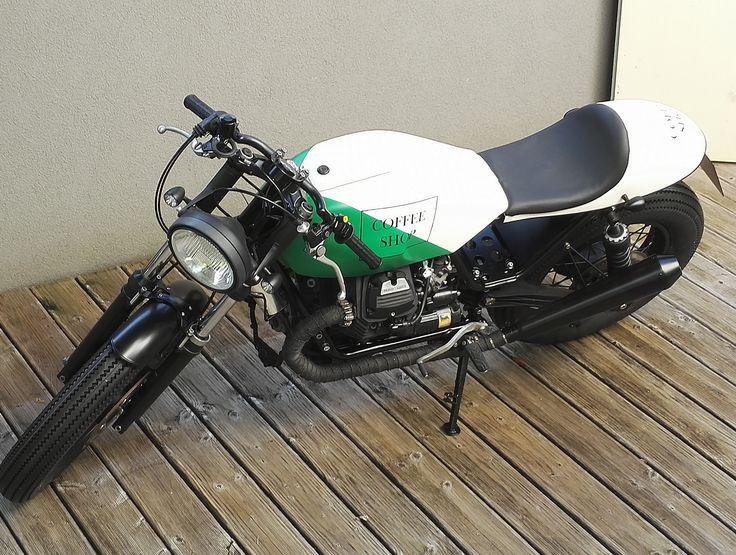 Moto Guzzi V65 Coffe Shop