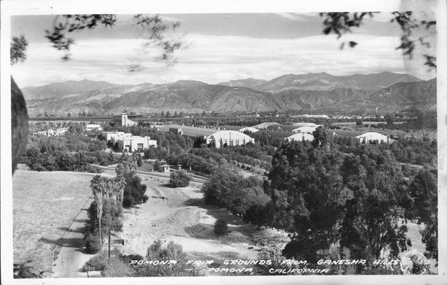 Pomona Fair Grounds From Ganesha Hills, Pomona, California