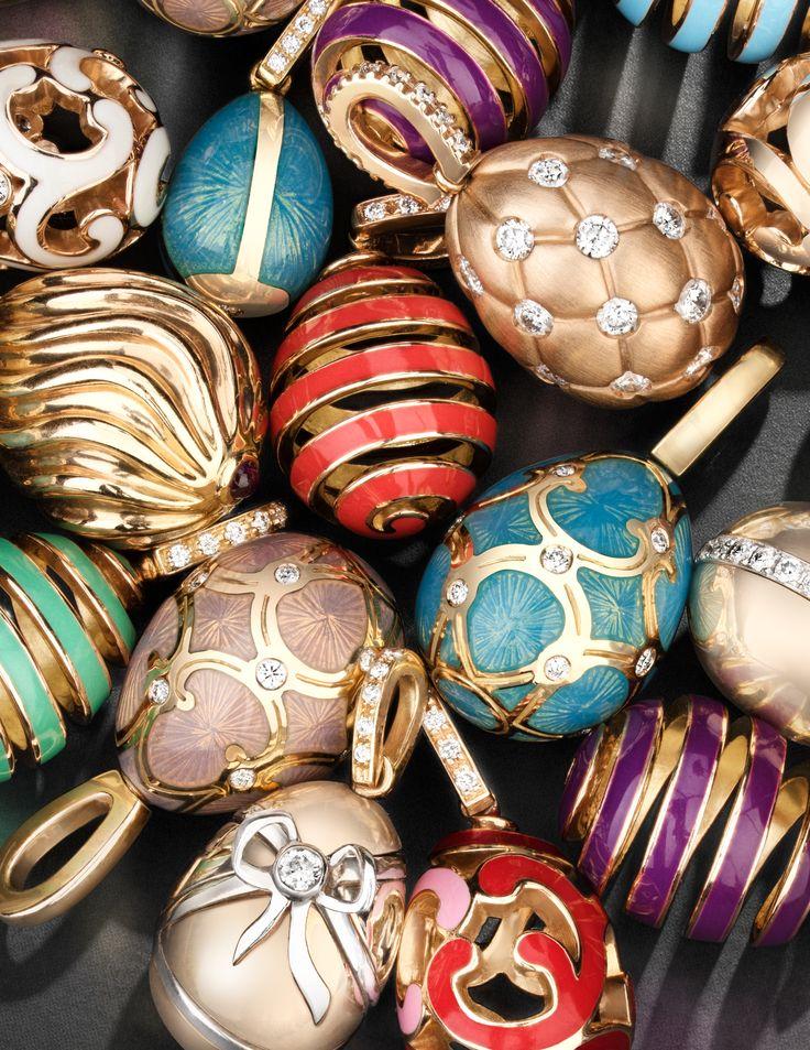 Fabergé Charms Collection #Fabergé #charms