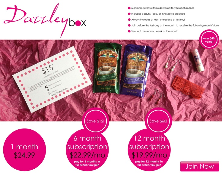 29 best images about Subscription Sample Boxes on Pinterest ...