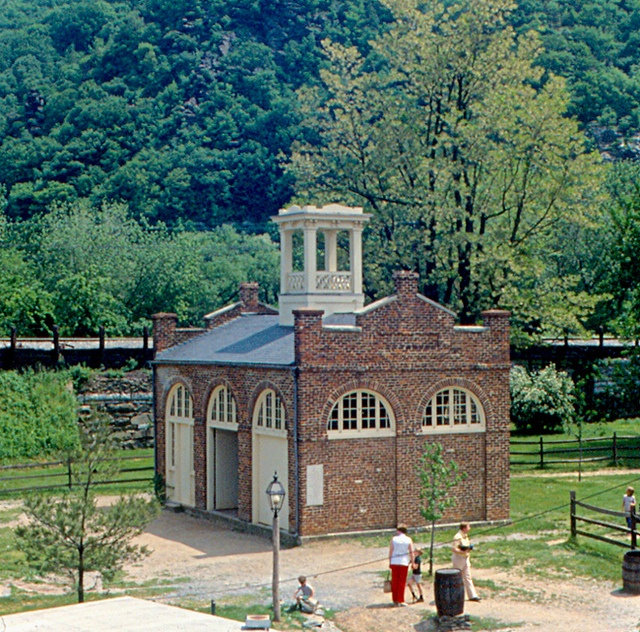 """""""John Brown's Fort"""" in Harpers Ferry, WV"""
