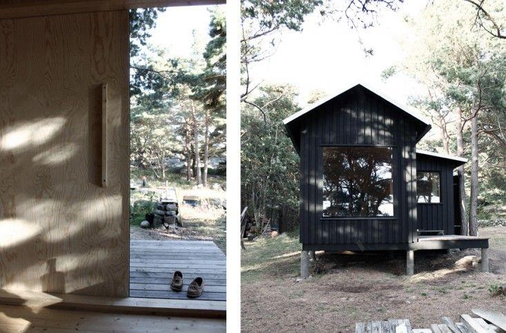 ermitage cabin with sauna   gardenista