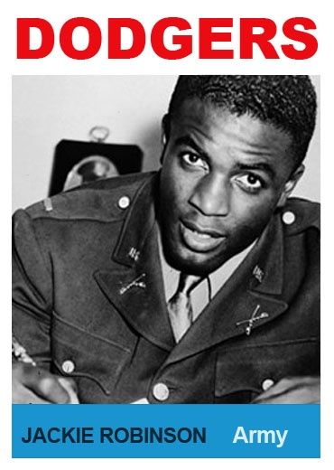 a biography of jackie roosevelt robinson an america soldier And that refusal led to 2nd lt jack roosevelt robinson being court-martialed by the united states army in 1944 jackie robinson enters the us army jackie robinson had been drafted in 1942, becoming part of the first large group of african-americans ever inducted into the united states army.