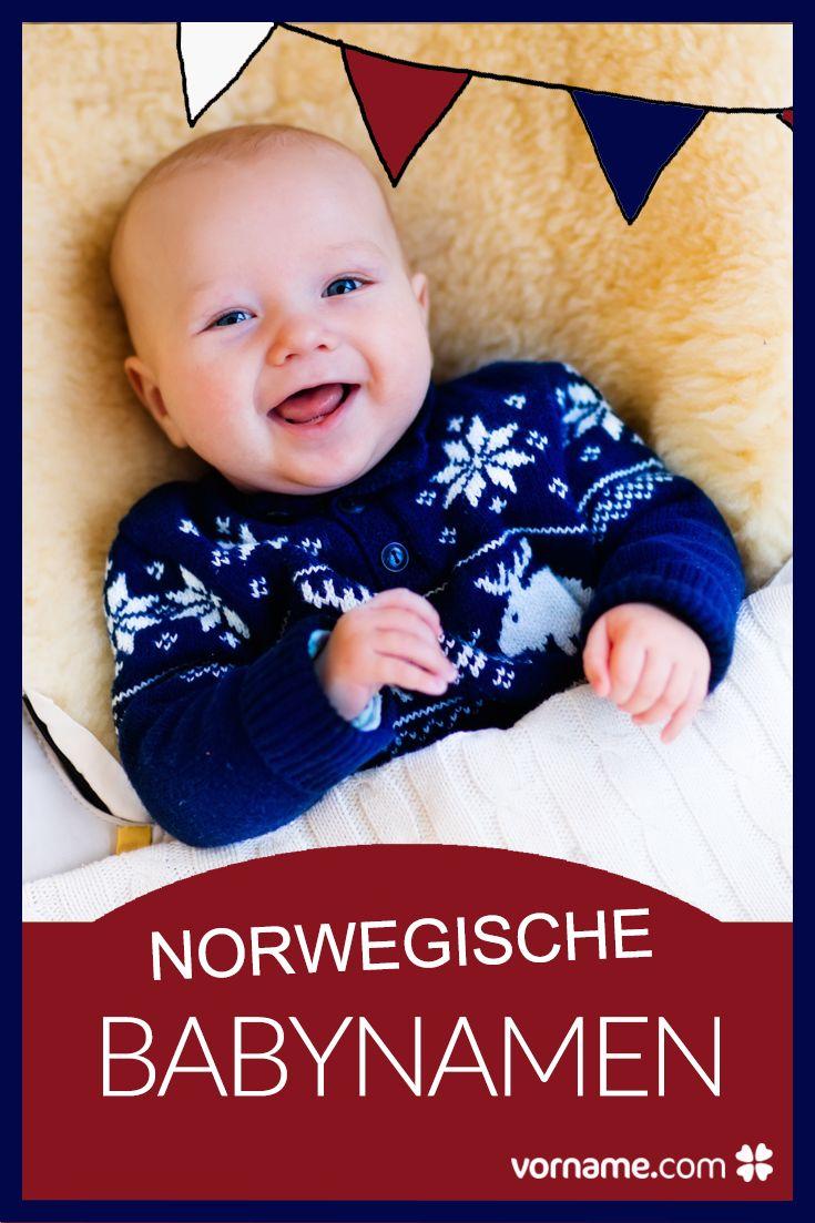 Skandinavische Babynamen sind sehr beliebt. Finde bei uns die schönsten Vornamen aus Norwegen!